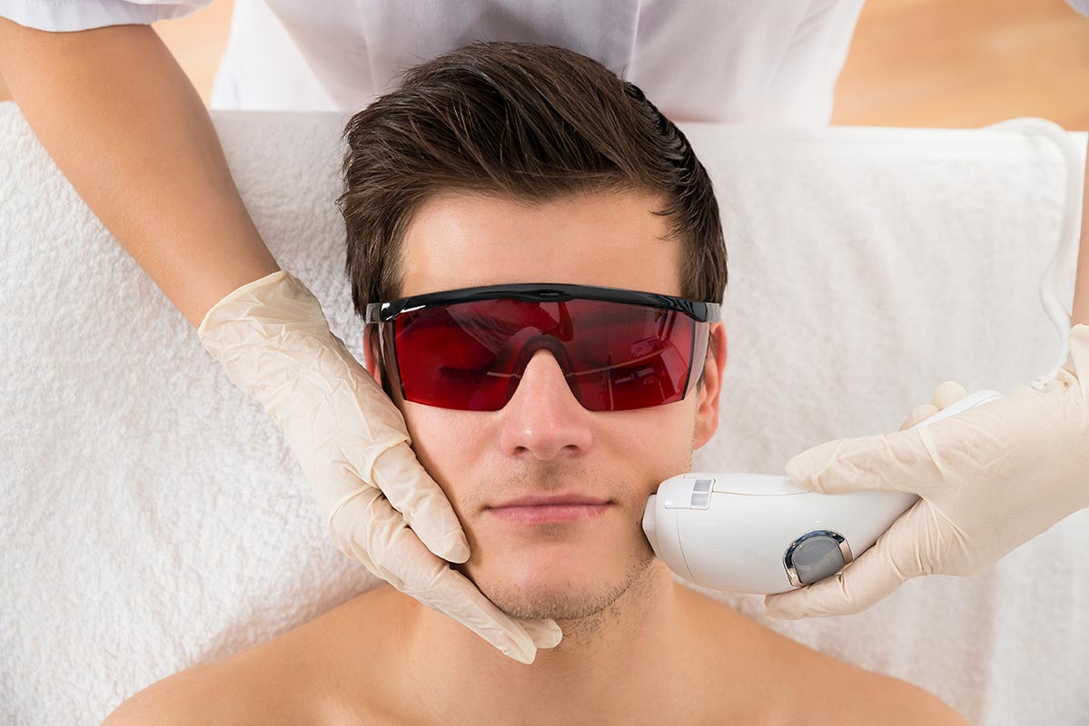 Results from Laser Hair Removal